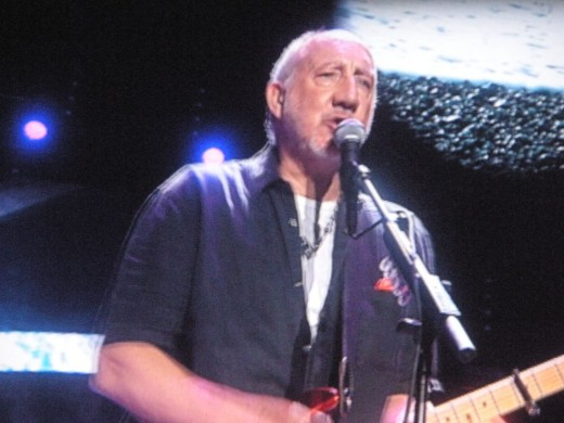 Pete Townshend of The Who, live on stage February 22, 2013.
