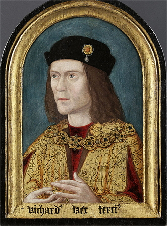 This is said to be the earliest surviving portrait of King Richard III