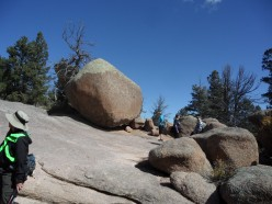 Vedauwoo, Wyoming: On a Sierra Club Hike