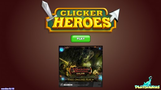 Clicker Heroes created by Playsaurus. Images used for educational purposes only.