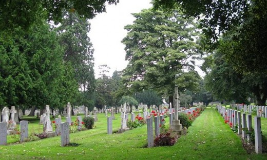 This picture is an example of a clean up cemetery and a Churchyard in Ireland.