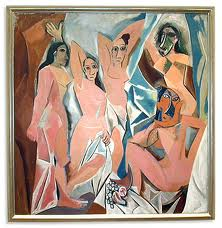 The first cubist painting