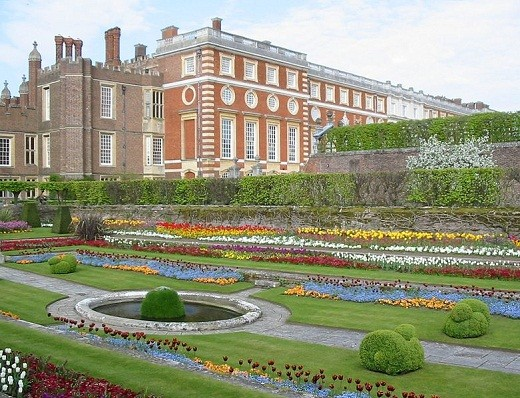 One of Hampton Court Palace's Gardens