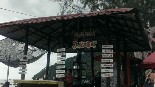 Cafe at Salang Beach, Tioman Island.