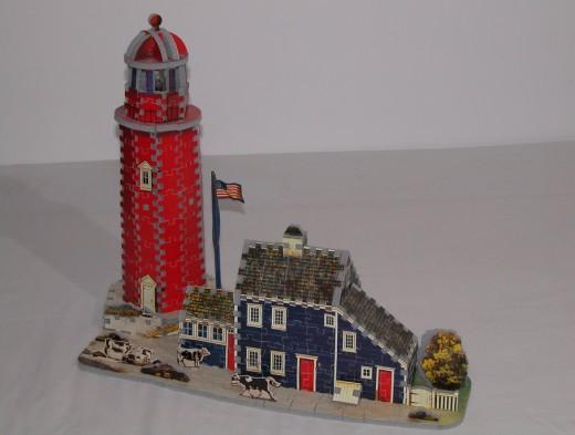 Charles Wysocki's Seaside Lighthouse Puzzle