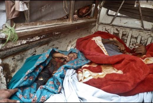 Victims of the Kandahar Massacre.