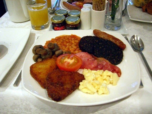 Another version of the Full English Breakfast