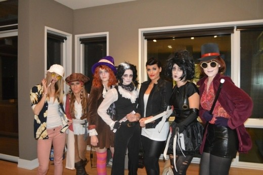 See the many faces of Johnny Depp as a Halloween Costume