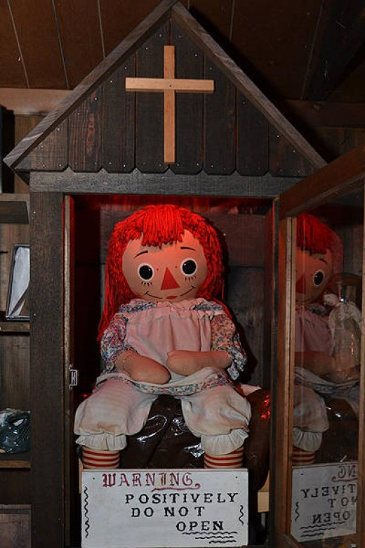 "Believe it or not, this is the real life ""Annabelle"""