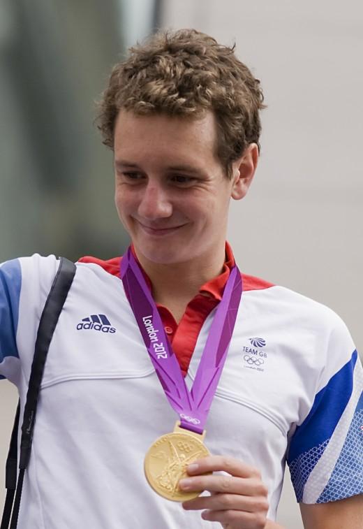 Alistair Brownlee - Olympic Triathlon Champion London 2012