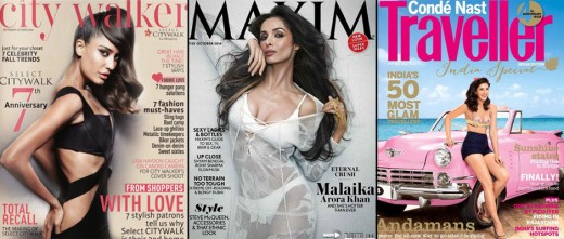 VISIT BISCOOT SHOWTYM CLICK BELOW :http://www.biscoot.com/showtym Hot B town Actress Bollywood stars Malaika Arora Khan, Nargis Fakhri, Lisa Haydon, Amitabh Bachchan, Hrithik Roshan feature on the latest issue of the following cover of the magazine