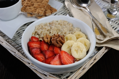 Oatmeal is effective for weight control