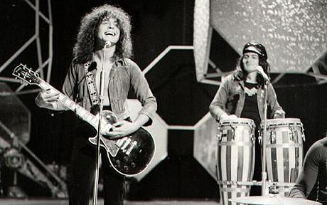 T.Rex at the first Glastonbury festival