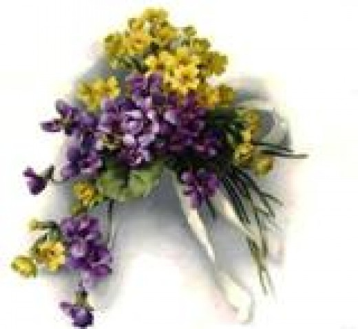 Just about everyone loves colorful bouquets. This vintage bouquet image is available on various items in my zazzle shop.
