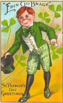 St. Patrick's Day, Erin Go Bragh, Leprechaun