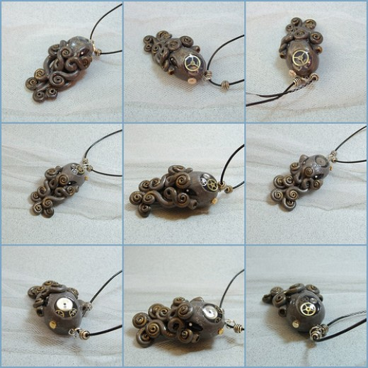 Nautical Steampunk Pendants