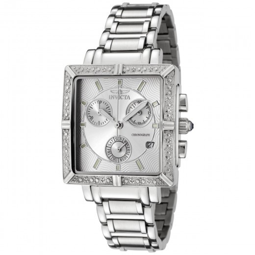 Invicta 5377 Square Angel Diamond Watch