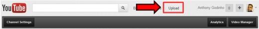 Step 1: Login and Click Upload Link