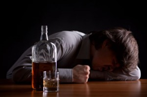 For some depressed people, they think that drinking alcohol helps them forget the problem.