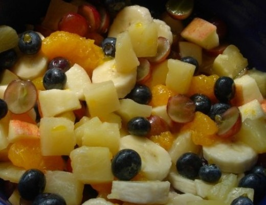 Fruits are rich in fibers and roughage, helps in digestion