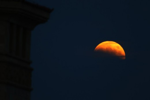 Blood Moon Lunar Eclipse October 8 2014