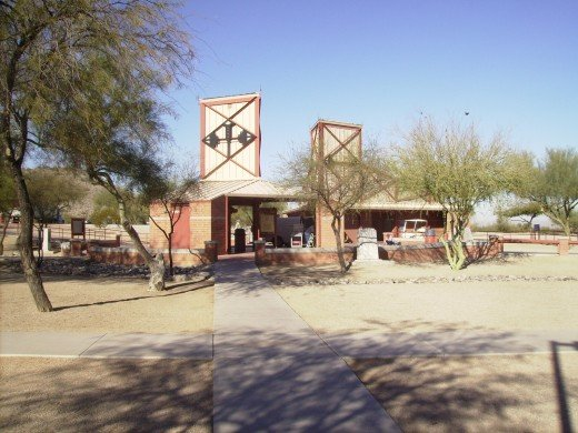 Rest Stop on I-10 located on northern border of 1853 Gadsden Purchase in which U.S. purchased what is now the southern parts of Arizona and New Mexico from Mexico