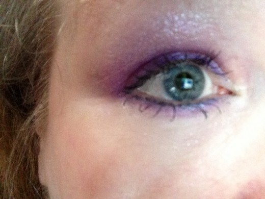 (C)Katharella - Purple Lancome shadow - Too Faced mascara