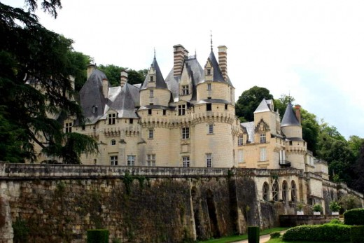 The Chateau of Usse, the Sleeping Beauty Castle