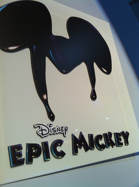 Epic Mickey Promotional Poster