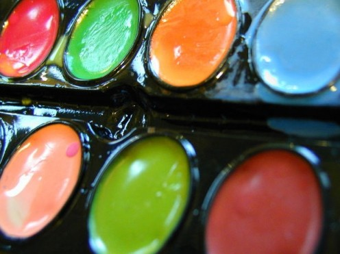 Colorful paints