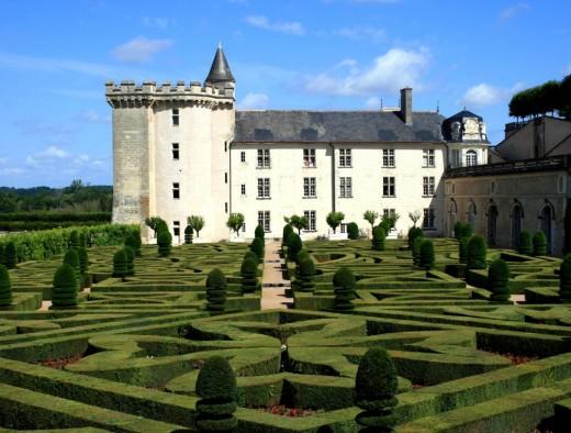 The first ornamental gardens again