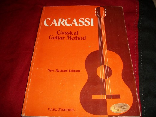 This is a complete classical guitar course written by Carl Fisher. The book starts out easy and progresses to a higher level of difficulty.