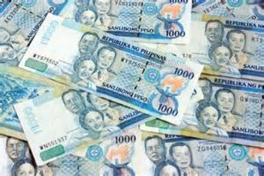This is the latest Philippine bank note of 1000 peso bill.