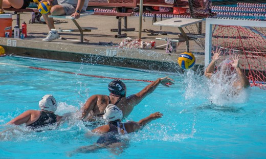 Water polo in the Sierra College pool