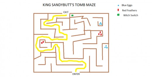 Here's one route through the maze...