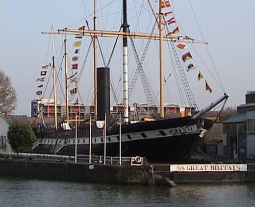 SS Great Britain built by Isambard Kingdom Brunel