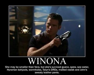 Don't make fun of Winona's size.