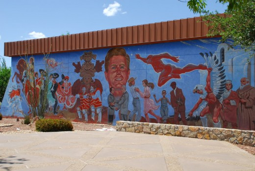 depicts the history and culture of the borderlands