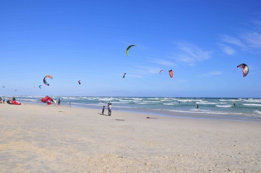 Best beach to enjoy kite surfing