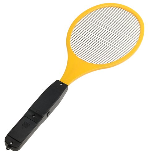Amazing Handheld Bug Zapper : This one has been around for quite some time in the market. It has a high rating on Amazon and has garnered a few hundred reviews there.
