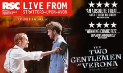WILL AND ME: RSC'S The Two Gentlemen of Verona (2014) Review