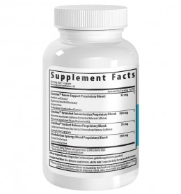 Limidax XR Supplement Label Bottle
