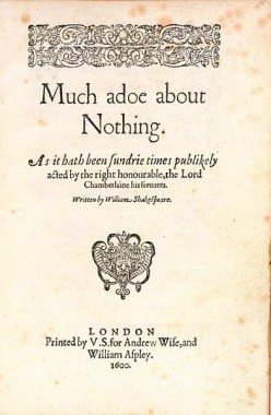Much Ado About Nothing (How to Write When Inspiration is Lacking)