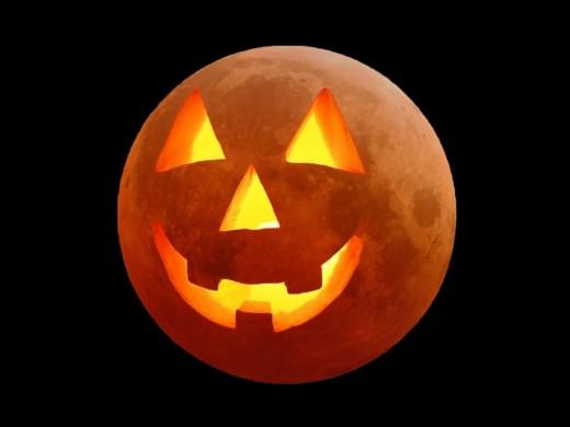 Jack-O-Lantern Moon