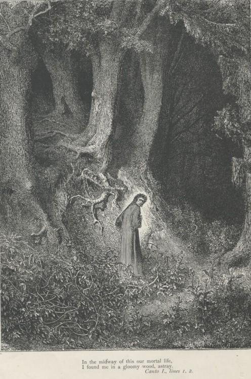 Dante Alighieri's Divine Comedy (1308 - 1332). 1867