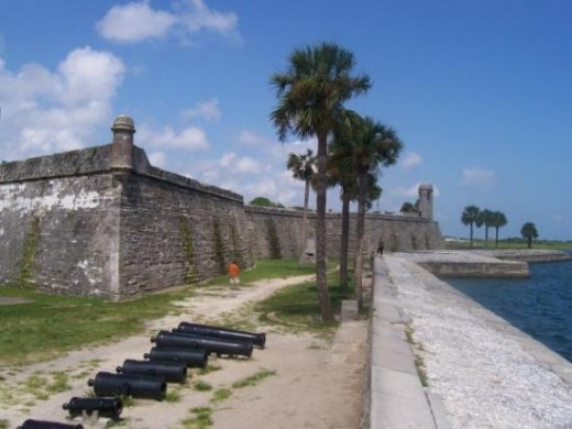 Castillo De San Marco Or The Old Spanish Fort As It Is Known To Locals Is One Of The Most Haunted Places In St Augustine Florida