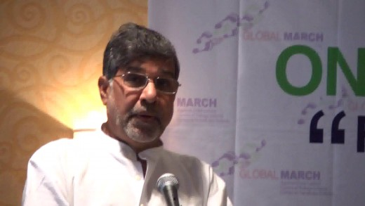 Kailash Satyarthi, one of the two awardees of the 2014 Nobel Peace Prize