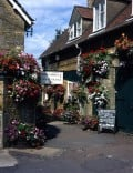Bourton on the Water, in the Cotswolds, and River Football