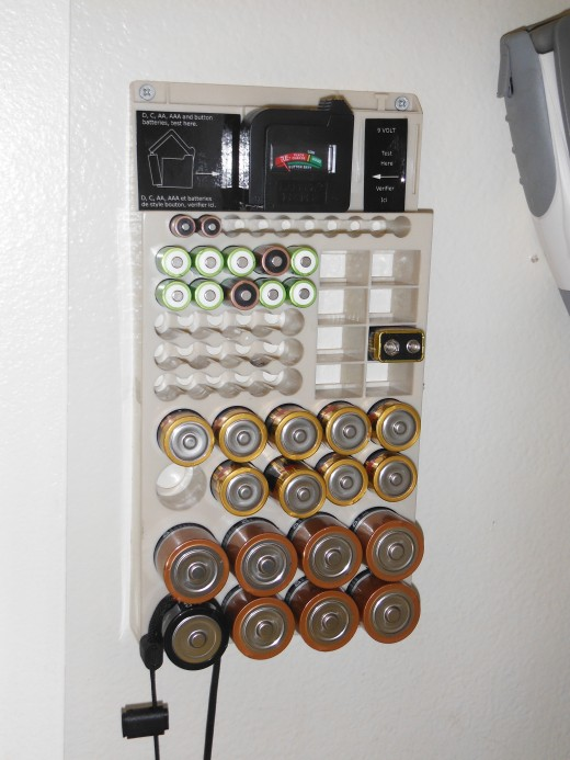 Now I know exactly where my batteries are, how many I have, and what sizes!
