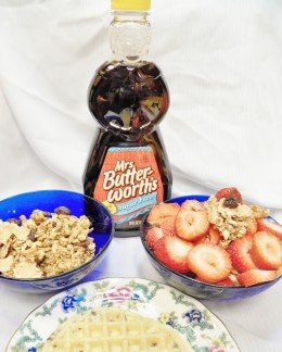 Mrs. Butterworth's is good for pancakes and waffles, as a honey replacement and in recipes.